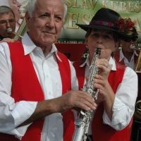 Susanne Landert a Arnold Schmid (zprava)