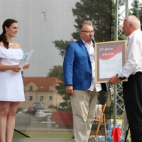 Von links: Kateřina Hálová, Václav Cordier (EWOTON), Ladislav Kubeš